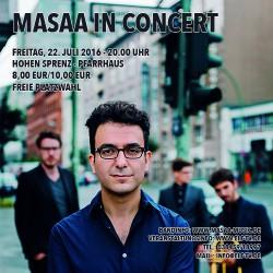 Masaa Konzert in Hohen Sprenz
